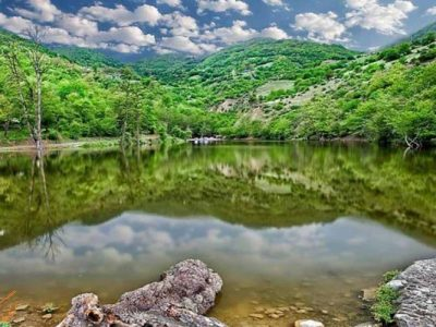 دریاچه شورمست نگین سوادکوه