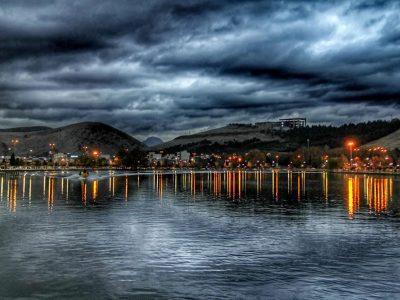 دریاچه کیو دریاچه درون شهری لرستان