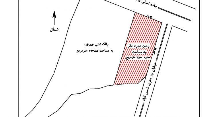 فروش 3800 متر زمین در نشتارود