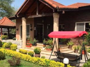 ویلا باغ استخردار سونا جکوزی